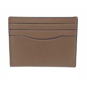 Coach Men's Card Case Sport Calf Leather Wallet